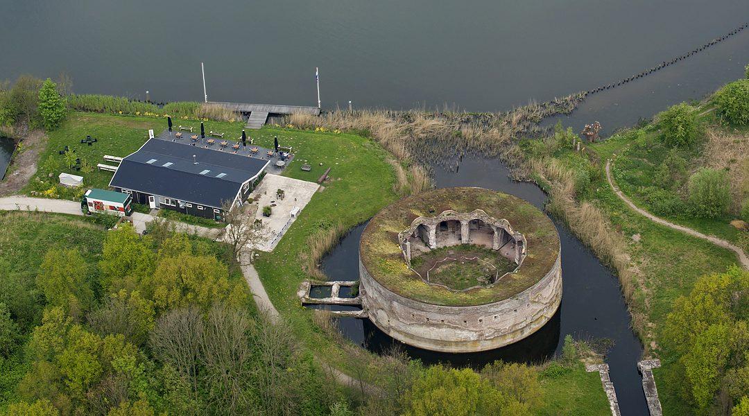 5 juli 2019 : Bezoek aan fort Uitermeer in Weesp